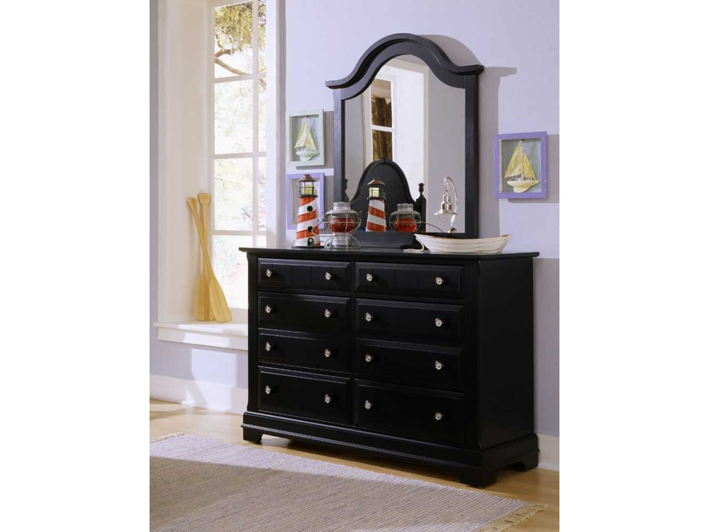 Shown with BB16-442 Vertical Dresser Mirror