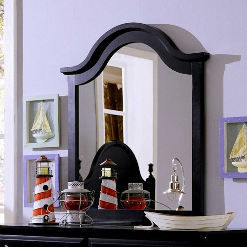 Vaughan Bassett Cottage Mirror / Vertical Dresser Mirror