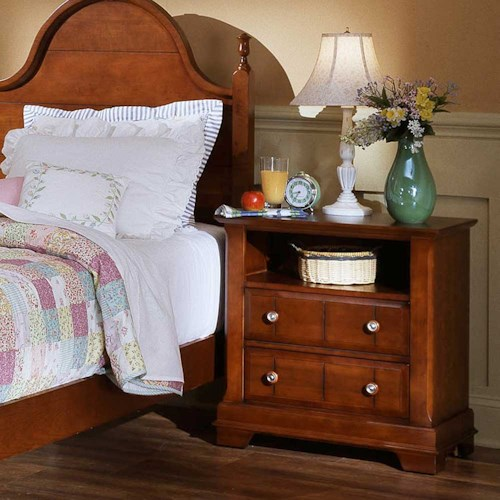 Vaughan Bassett Cottage Commode / Nightstand