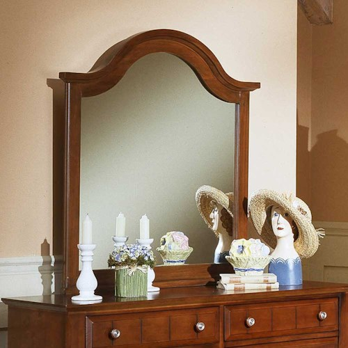Vaughan Bassett Cottage Mirror / Vertical Dresser Mirror