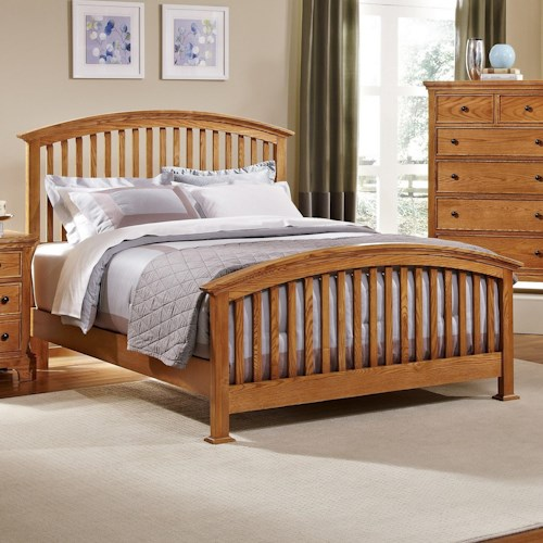 Vaughan Bassett Forsyth King Arched Bed