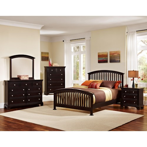 Vaughan Bassett Forsyth Queen Bedroom Group