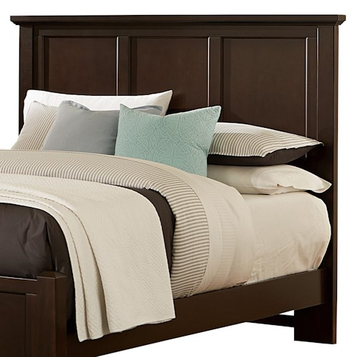 Vaughan Bassett Bonanza Full Mansion Headboard