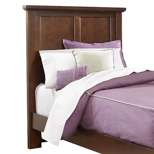 Vaughan Bassett Bonanza Twin Mansion Headboard