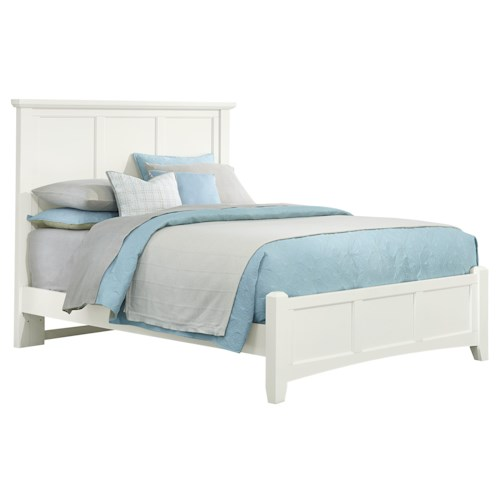 Vaughan Bassett Bonanza Queen Mansion Bed with Low Profile Footboard
