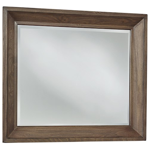 Vaughan Bassett Collaboration Rustic Landscape Mirror