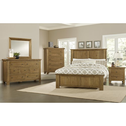 Vaughan Bassett Collaboration Queen Bedroom Group