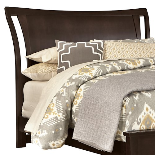 Vaughan Bassett Commentary Queen Wing Headboard