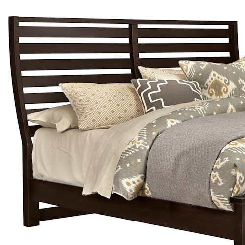 Vaughan Bassett Commentary King Benchback Headboard