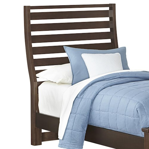 Vaughan Bassett Commentary Twin Benchback Headboard