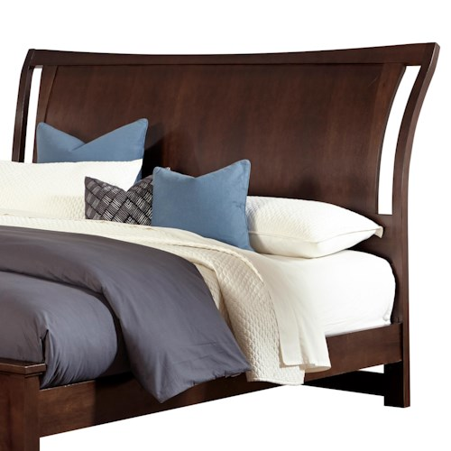 Vaughan Bassett Commentary Full Wing Headboard