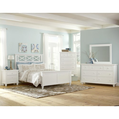Vaughan Bassett Ellington California King Bedroom Group