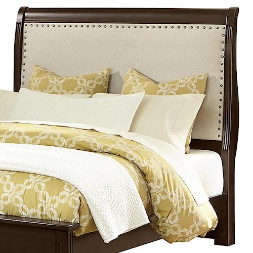Vaughan Bassett French Market Twin Upholstered Headboard (Linen)