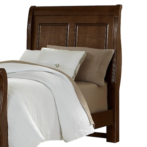 Vaughan Bassett French Market Twin Sleigh Headboard
