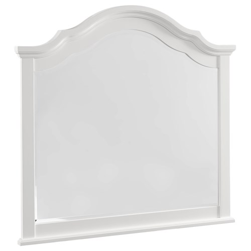Vaughan Bassett French Market Transitional Arched Mirror