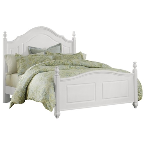 Vaughan Bassett French Market Traditional Queen Poster Bed