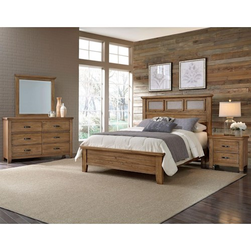 Vaughan Bassett Cassell Park Queen Bedroom Group