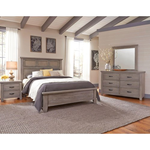 Vaughan Bassett Gramercy Park Queen Bedroom Group