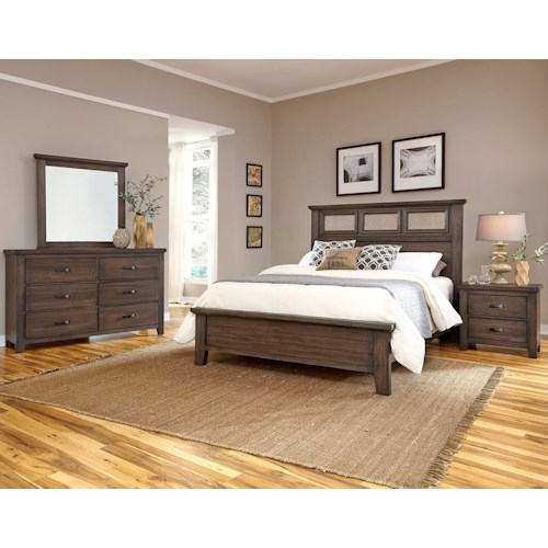 Vaughan Bassett Gramercy Park King Bedroom Group