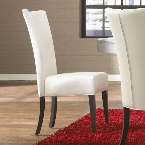 Canadel High Style - Custom Dining Customizable Upholstered Side Chair