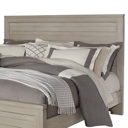 Vaughan Bassett Kismet Contemporary King Planked Panel Headboard