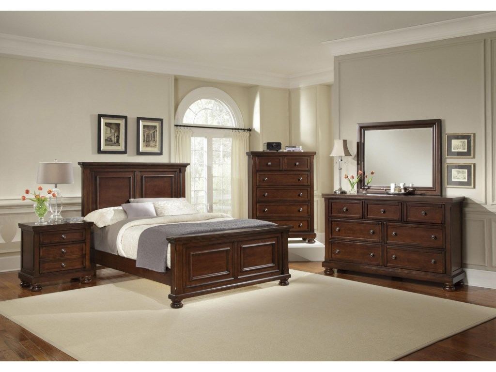 Shown with Nightstand, Chest, Dresser & Mirror