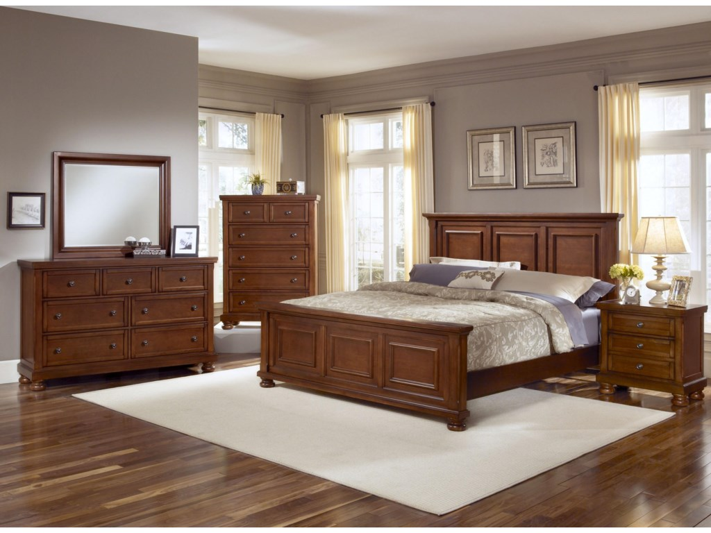 Shown with Coordinating Chest, Panel Bed, and Nightstand
