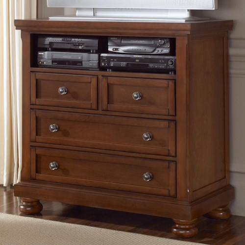 Vaughan Bassett Reflections Entertainment Center Media Chest