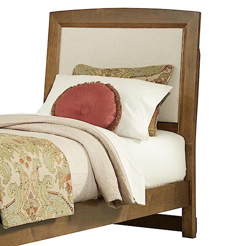 Vaughan Bassett Transitions Twin Upholstered Headboard (Base Cloth Linen)