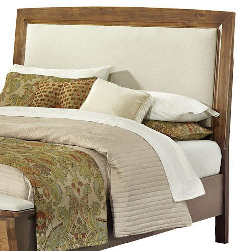 Vaughan Bassett Transitions Full Upholstered Headboard (Base Cloth Linen)