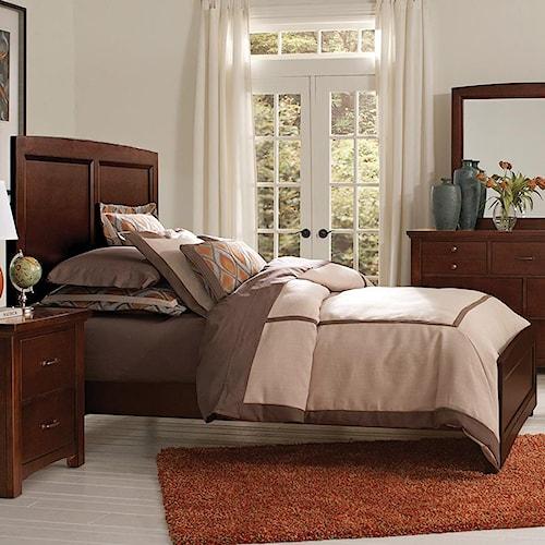 Vaughan Bassett Transitions Queen Panel Bed