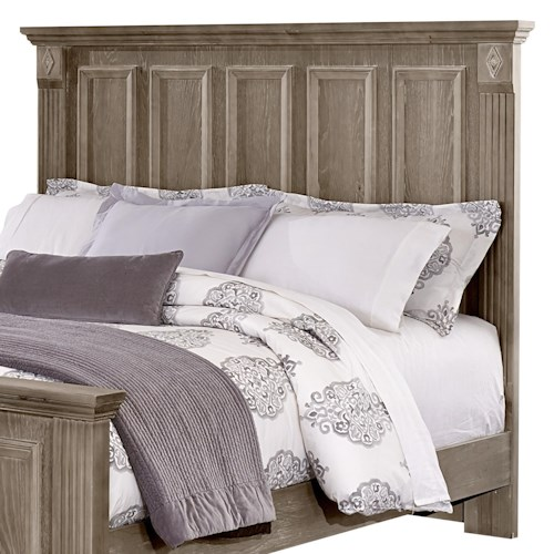 Vaughan Bassett Woodlands Queen Mansion Headboard