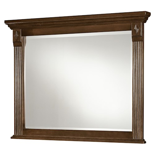 Vaughan Bassett Woodlands Landscape Mirror
