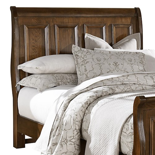 Vaughan Bassett Woodlands King Sleigh Headboard