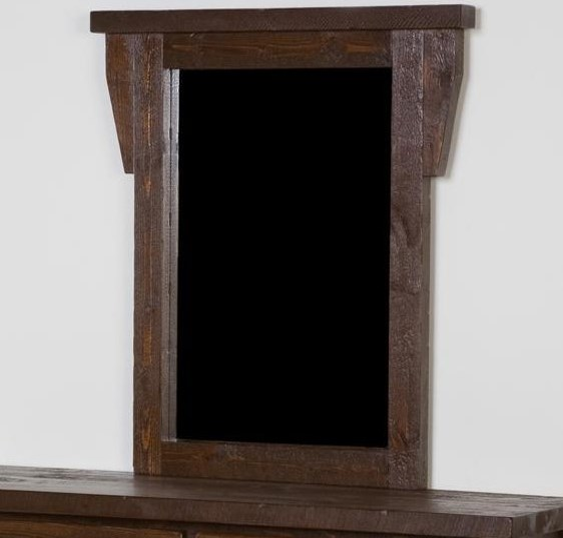Barnwood Dresser Mirror