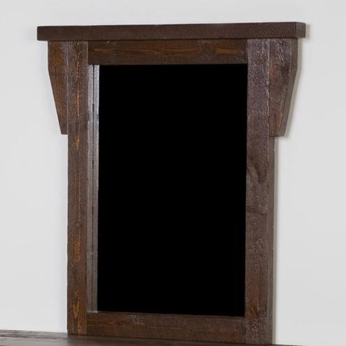 NorthShore by Becker Log Furniture Barnwood Dresser Mirror