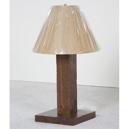 NorthShore by Becker Log Furniture Barnwood Table Lamp