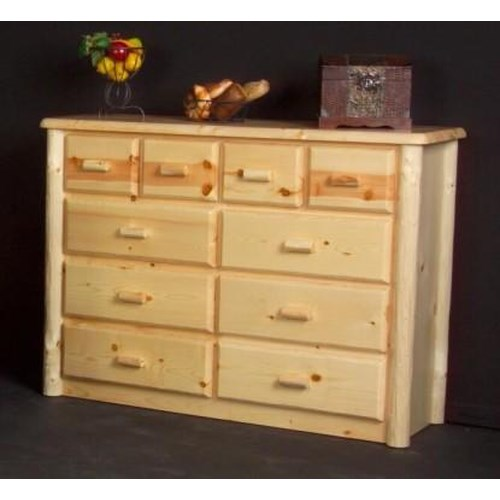 NorthShore by Becker Log Furniture Northwoods Ten Drawer Chesser