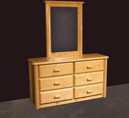 Shown with Northwoods Six Drawer Dresser