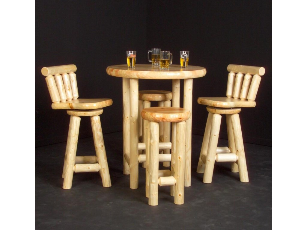 Shown with Log Pub Table