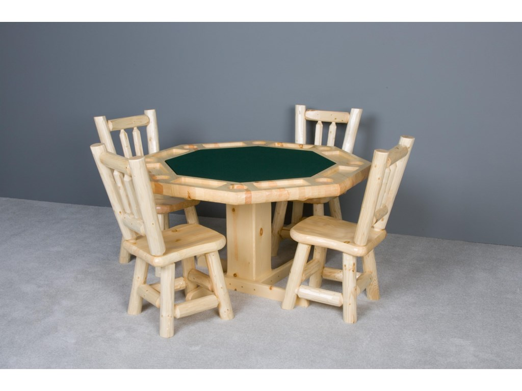 Shown with Poker Table