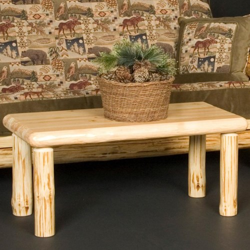 NorthShore by Becker Wilderness Rustic Rectangular Coffee Table