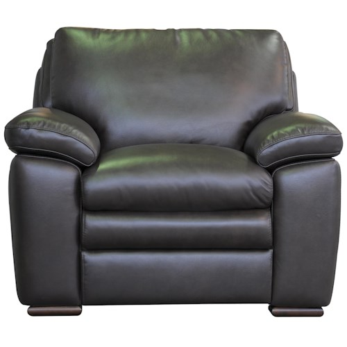 Belfort Select Cooper Upholstered Chair with Pillow Arms
