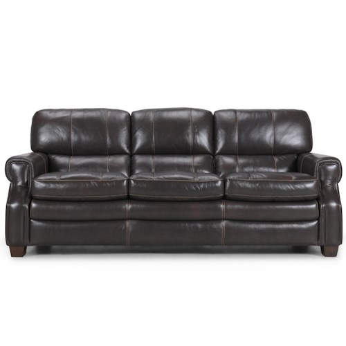 Becker 1950 3633 Traditional Sofa with Contrast Stitching