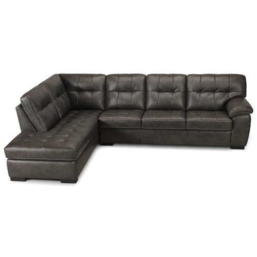 Becker 1950 3638 2 Piece Sectional with Chaise