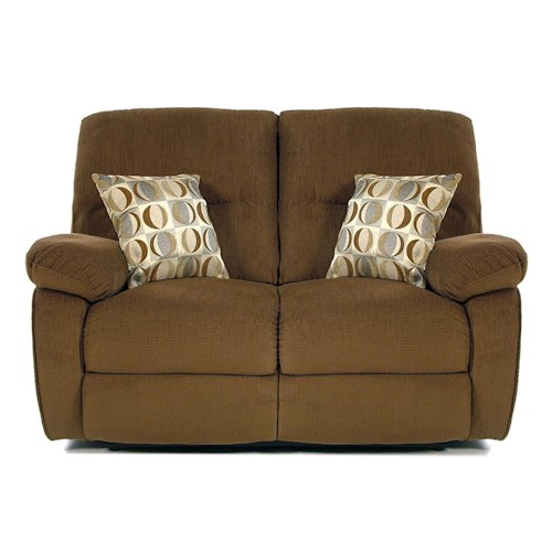Madison Manor Taurus Casual Reclining Loveseat