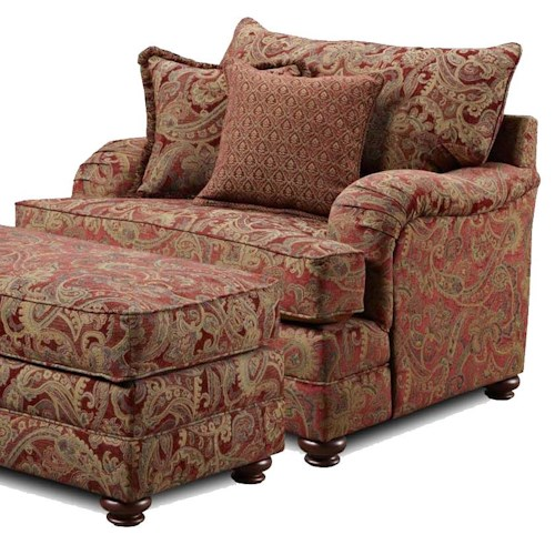 Washington Furniture 1130 Traditional Arm Chair