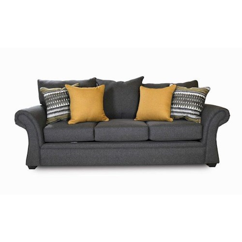 Washington Furniture 1560 Jitterbug Gray Sofa