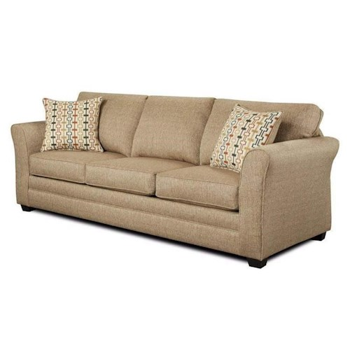 Washington Furniture Mover Straw Sofa