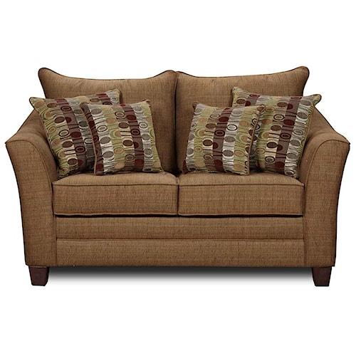 Washington Furniture 4010 Contemporary Love Seat